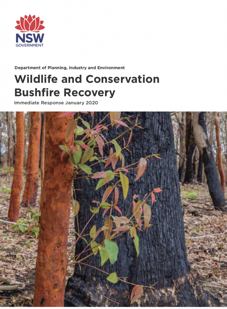 Wildlife and Conservation Bushfire Recovery Plan